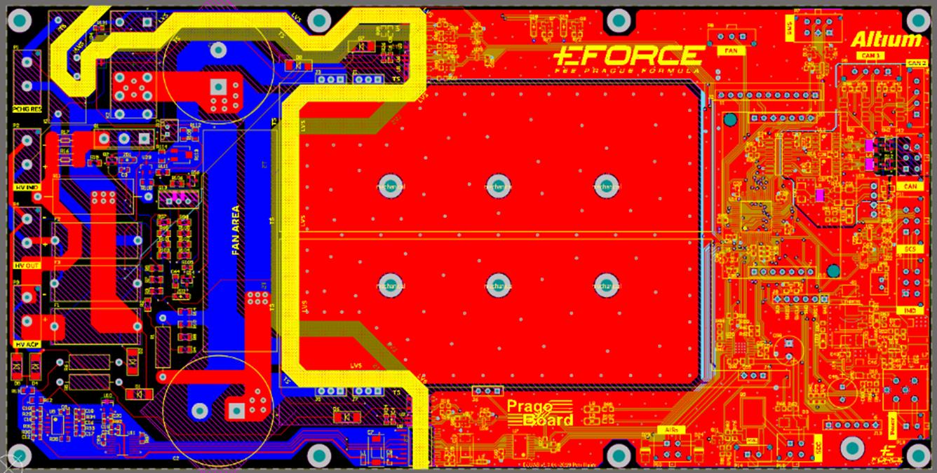 Figure 4: AMS PCB