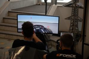 Simulator rollout